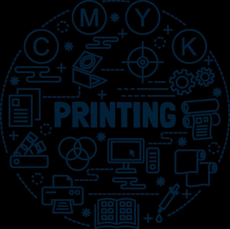 mps printing ilustration